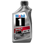 Mobil 1 10W-40 Full Synthetic Motorcycle Oil, 0.9l.
