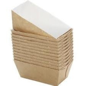 BAKERY DIRECT 25 MINI LOAF CARD BAKE-IN DISPOSABLE PAPER MOULDS FREEPOST