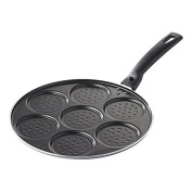 CHEVALIER DIFFUSION - 7 Blini Pan 26 cm Coated Aluminium Induction *