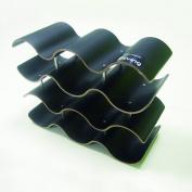 Point-Virgule PV-LIV-1177 4-Level Wine Bottle Holder for 10 Bottles Black