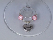 Princess Wine Glass Charms by Libby's Market Place