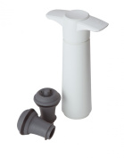 Vacu Vin Wine Pump Saver & 2 Stoppers 8121