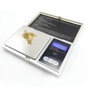 Mini Digital Gold Jewellery kichen Weighing Scale Pocket Weight 0.01G - 200G + 2xAAA UK Shipping
