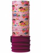 Junior Polar Buff Multifunctional Headwear - Dora the Explorer - Ballet / Mardi Grape - Junior Size