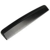 Duralon Single 15cm Plastic Pocket Hair Comb - Black
