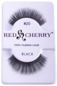 Red Cherry False Eye Lashes Style 20
