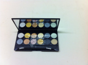 Technic Metalix Beauty Eyeshadow Palette with mirror and applicator