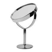Mini Lady Girl Beauty Make Up Cosmetic Dual Side Normal+Magnifying Stand Mirror
