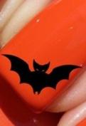 Halloween Bat - Nail Decals by YRNails