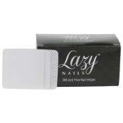 Lazy Nails 200 Lint Free Nail Wipes