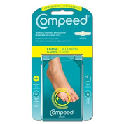 Compeed Corn Plasters (Pack of 6) Size Medium Cushioning Pain Relief Accelerates Corn Removal