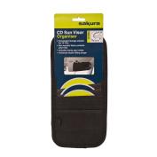 Car Taxi Van Black 10 CD DVD Sunvisor Sun Visor Organiser Pen Holder