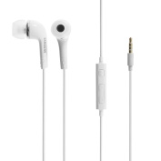 for Samsung 3.5mm Stereo Headset with Remote & Microphone for Samsung Galaxy Note 2 II - White
