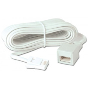 LINDY Telephone Extension Cable 10m
