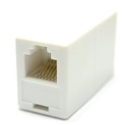 kenable RJ12 6P6C 6 Pin Female Coupler Adapter for Joining Cables