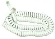 3.7m Coiled Handset Lead