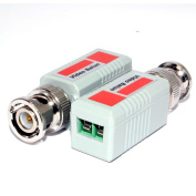 BNC Video Balun CCTV Over LAN Cat 5 Network Adapter