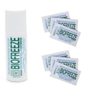 BIOFREEZE ROLL-ON + 10 TRAVEL SACHETS