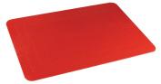 Tenura Red Non Slip Table Mat 35.5 x 25.5cm