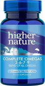 Higher Nature Essential 3:6:7:9 Omegas Pack of 180
