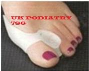 2 Gel Bunion Protector Toe Straightener Spreader Correctors Podiatrist Treatment