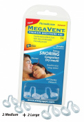 Megavent v 2.0 - New Swedish Nasal Breathing & Snoring Aid. CE reg. Clinically proven. Endorsed by ENT doctors. Can also be shaped individually.