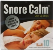 Snore Calm chin-up strips - 10 strips