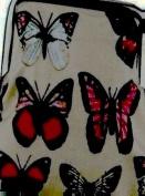 Oilcloth Owl Butterfly Flower Floral Polka Dot Coin Purse