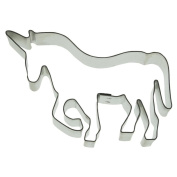 Staedter Unicorn Cookie Cutter, Stainless Steel, 9 Cm