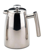 Grunwerg Belmont Double Wall Stainless Steel Cafetiere 1.5L / 12 Cup - HFD-12