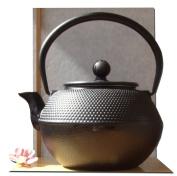 Tetsubin Japanese style Cast Iron black hobnail teapot kettle 1.2L