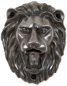 Beer Buddies Lion Wall Mounted Silver Finish Bottle Opener
