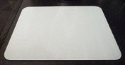 Medium Premium Glass Chopping Board - Plain White Kitchen Worktop Saver Protector