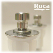 Roca Pair of WC Toilet Seat Fixing Pegs for Soft Close Hinges