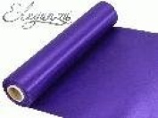 20m Roll Purple Satin Fabric for Weddings, Table Runners, Sashes and Swags