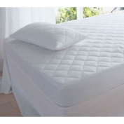 Luxury Quilted Single Bed Non Allergenic Fully Fitted Mattress Topper Protector