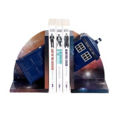 Doctor Who Tardis Bookends by Underground Toys