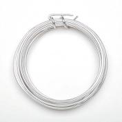 Aluminium Jewellery Wire - 12 Gauge - Silver - 3 yards