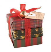 Mud Pie Soap Package, Plaid