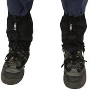 Andes Black Waterproof Walking Hiking Boot Ankle Gaiters Outdoor Trekking