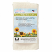 NuAngel Natural Cotton Washable Wipes