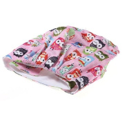Baby Cartoon Nappy Adjustable Printed Nappies Covers Liner Insert