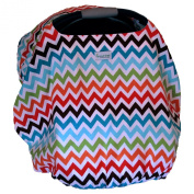 Sprout Shell Infant Carrier Cover, Chic Chevron
