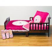 One Grace Place Sophia Lolita Toddler Set, White, Pink, Berry, Orange, Black