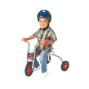 Angeles Silver Kids Toddler Children 20cm Rider Pusher BIcycle
