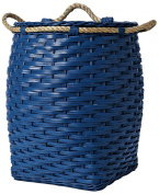 Serena & Lily Rope Basket - Laundry - Cobalt