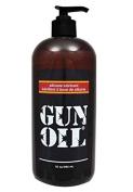 Gun Oil Silicone Based Personal Lubricant (Slick Silicone Formula) : Size 16 Oz /480 Ml
