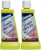 Carbona Stain Devils #4 Blood & Dairy, 50ml-2 pk
