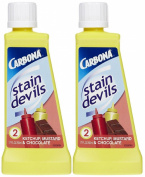 Carbona Stain Devils #2 Ketchup, Mustard & Chocolate, 50ml-2 pk