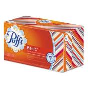 Puffs - White Facial Tissue, 1-Ply, 180 Sheets, 24/Carton 87611CT (DMi CT